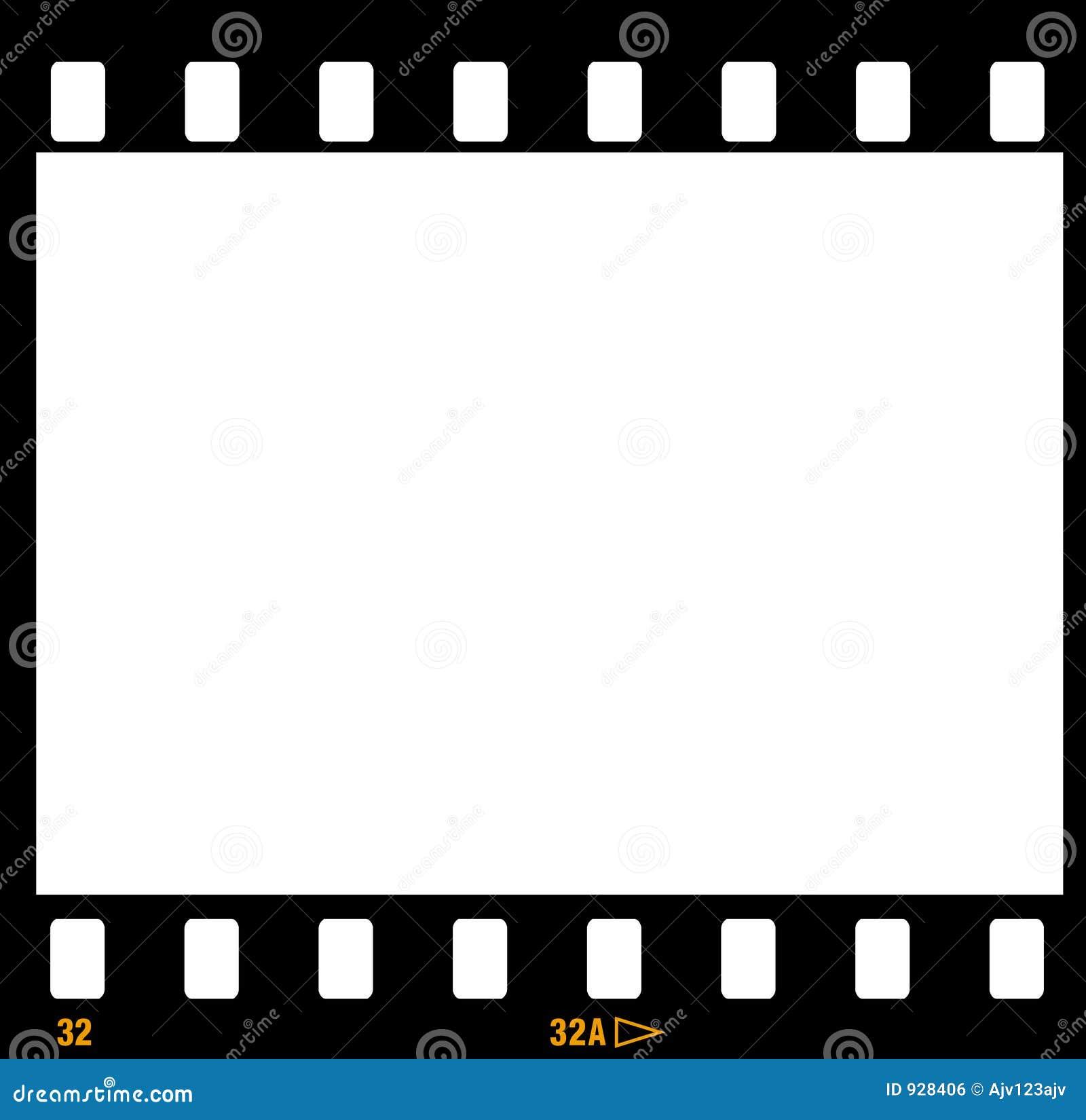 Marcos Del Marco De La Tira De La Película De 35m M Ilustración del ...