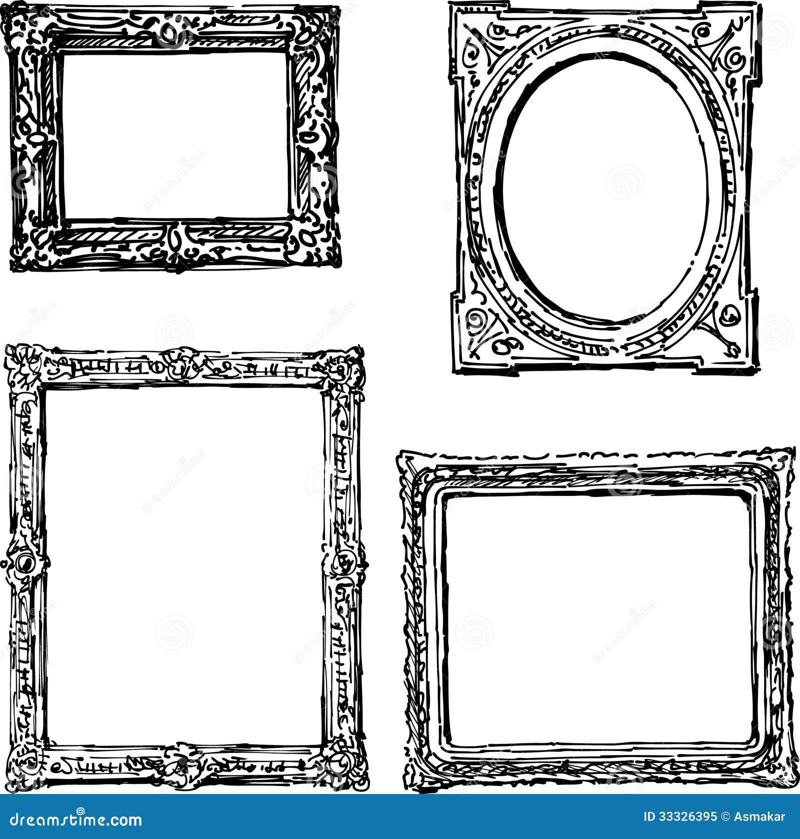 Contemporáneo Dibujos De Marcos De Cuadros Imagen - Ideas ...