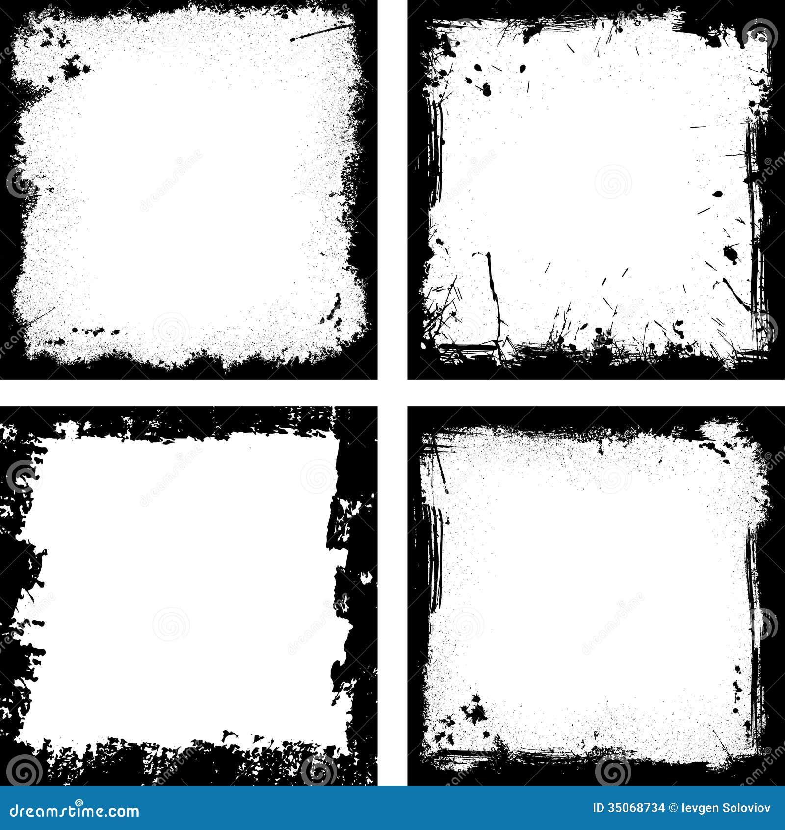 Asombroso Marcos De Cuadros Negros Embellecimiento - Ideas de Arte ...