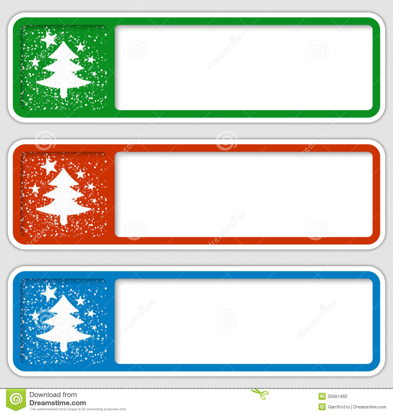 Marcos Para Cualquier Texto Con Un Adorno De La Navidad Ilustración ...