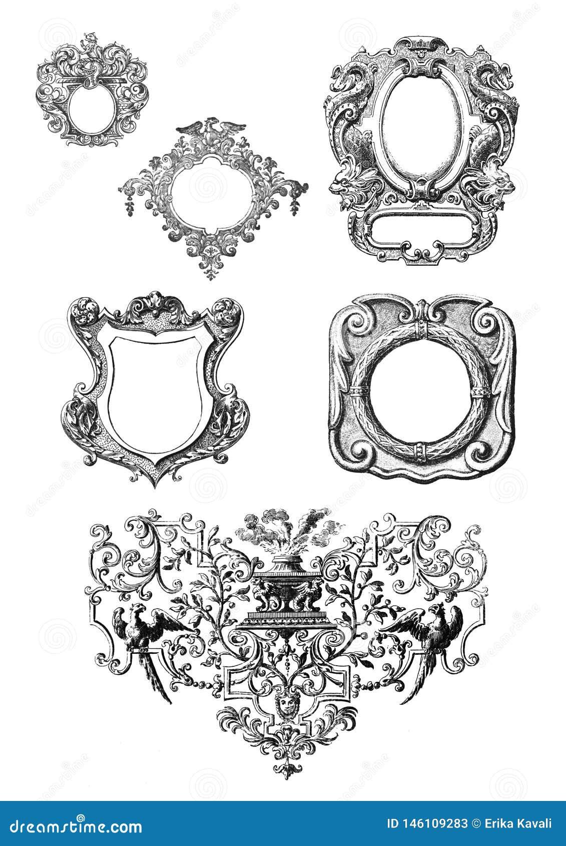 Marcos victorianos del estilo