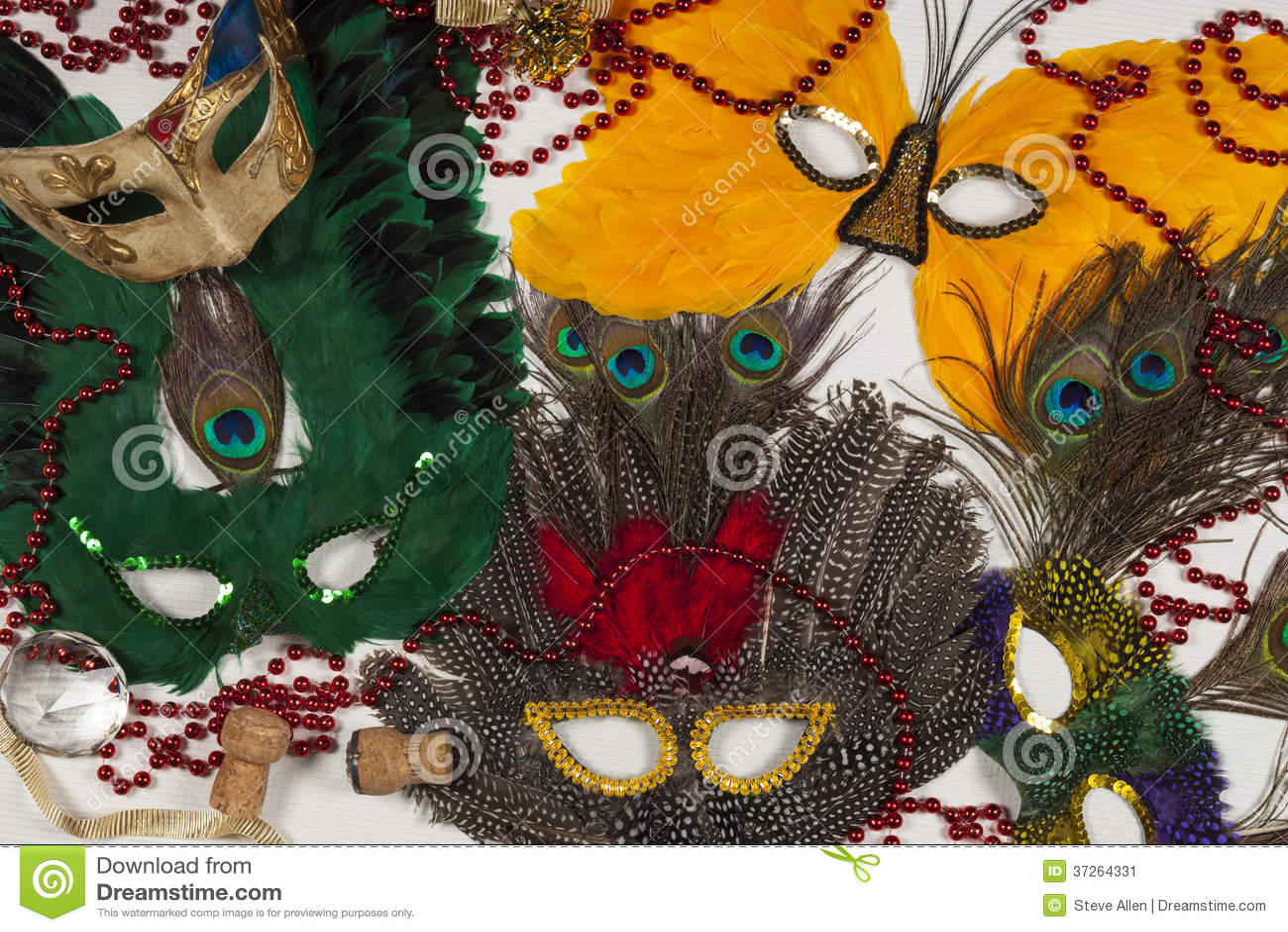 Mardi Gras Carnival Masks - la Nouvelle-Orléans