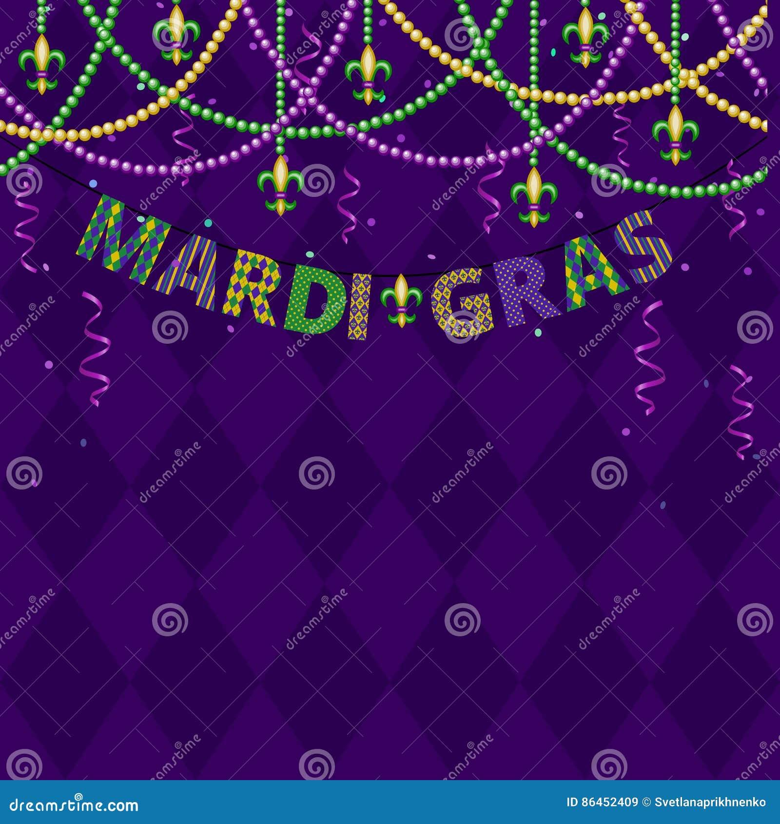 Mardi gras greetings