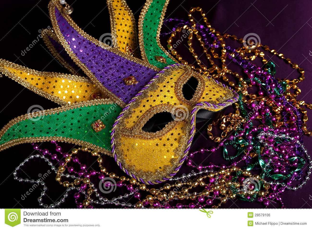 Mardi Gras Jester Royalty Free Stock Photography - Image: 23060467