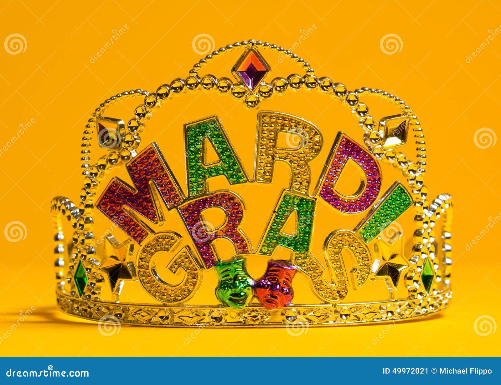 Mardi Gras kronagarnering