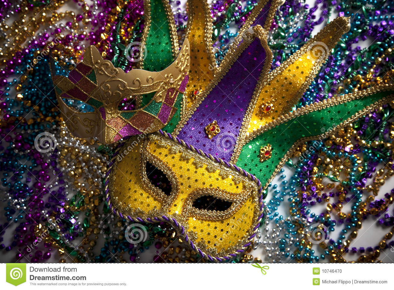 photo image beads mardi photos gras alamy stock carnival or images