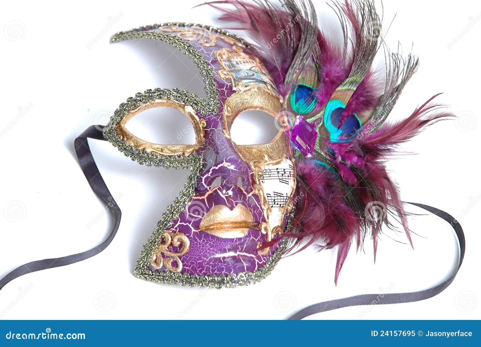 Mardi Gras mask female