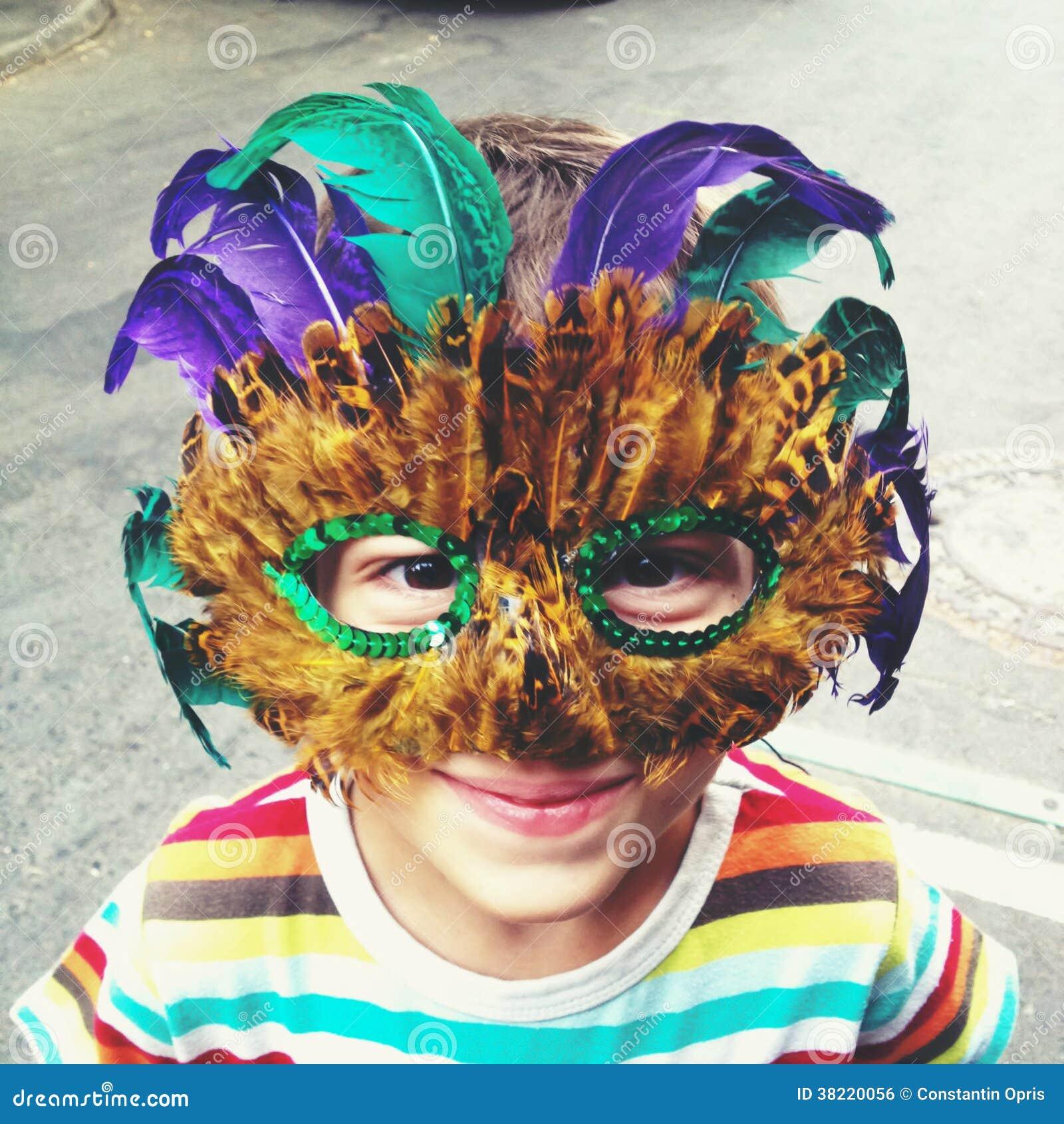 Mardi Gras maskering
