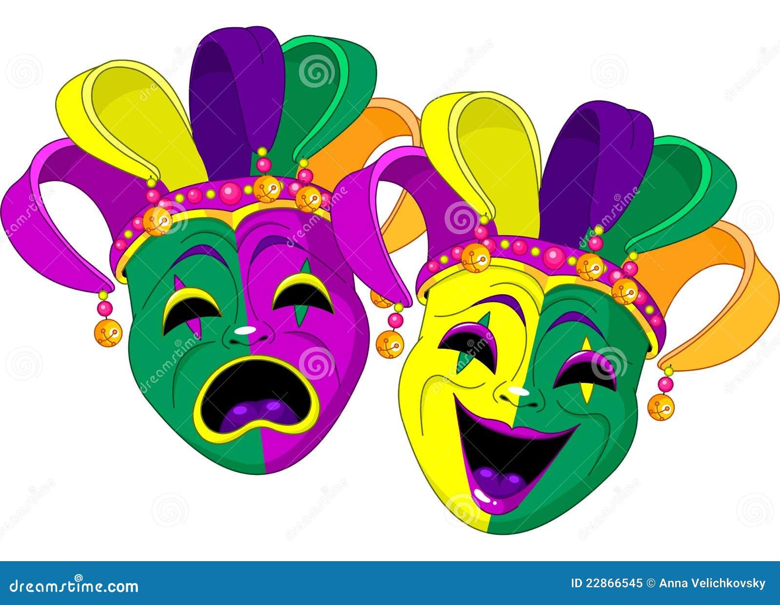mardi gras masks stock vector illustration of smile. Black Bedroom Furniture Sets. Home Design Ideas
