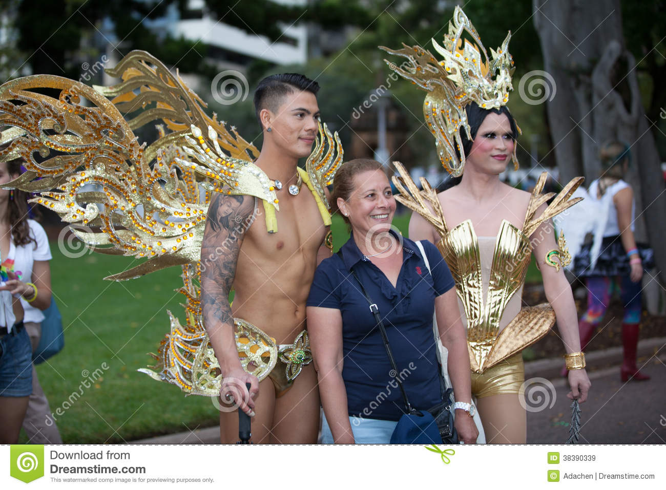 Absolutely Costume Design Gay Gras Gras Lesbian Mardi Mardi Sydney