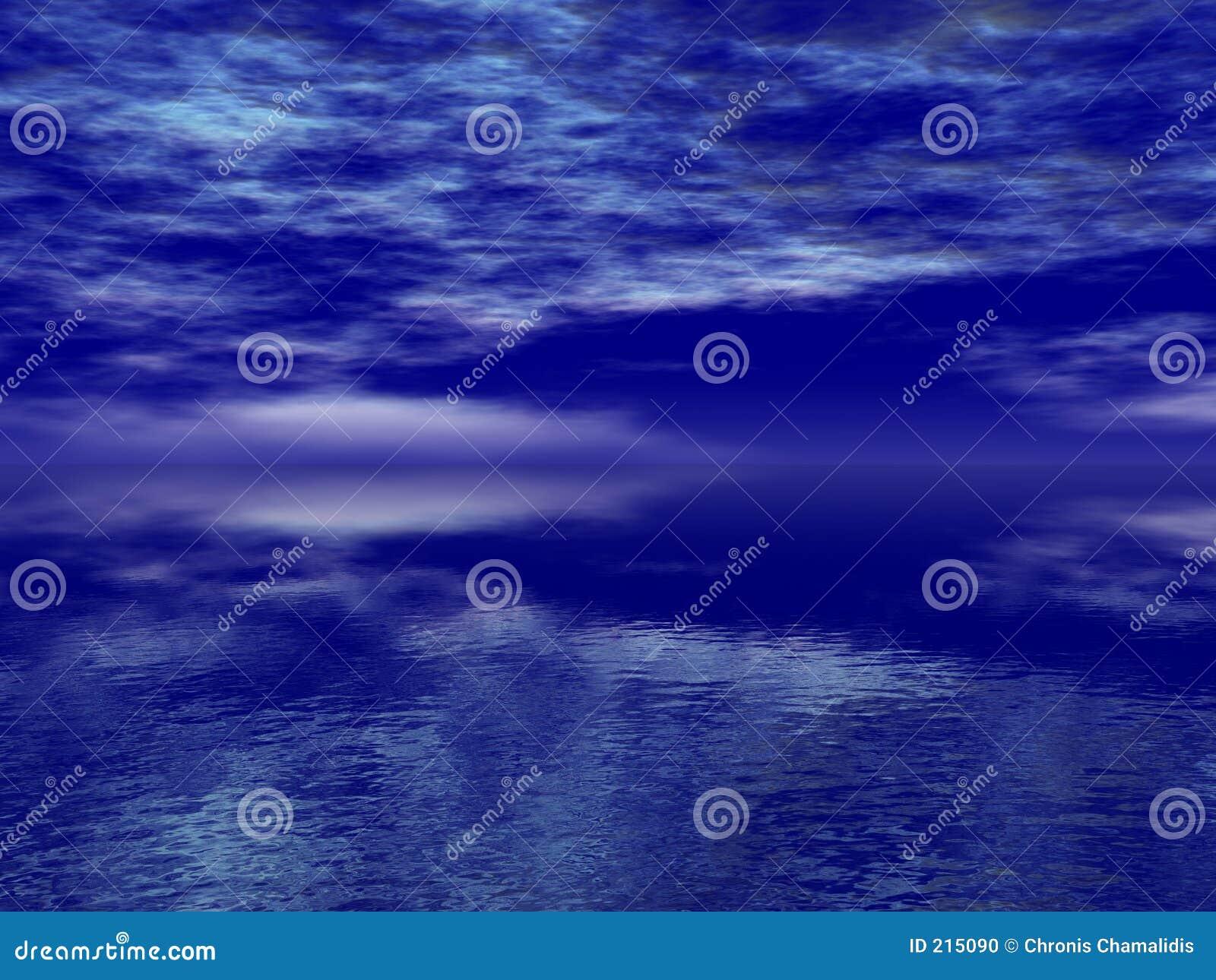 Mare blu profondo
