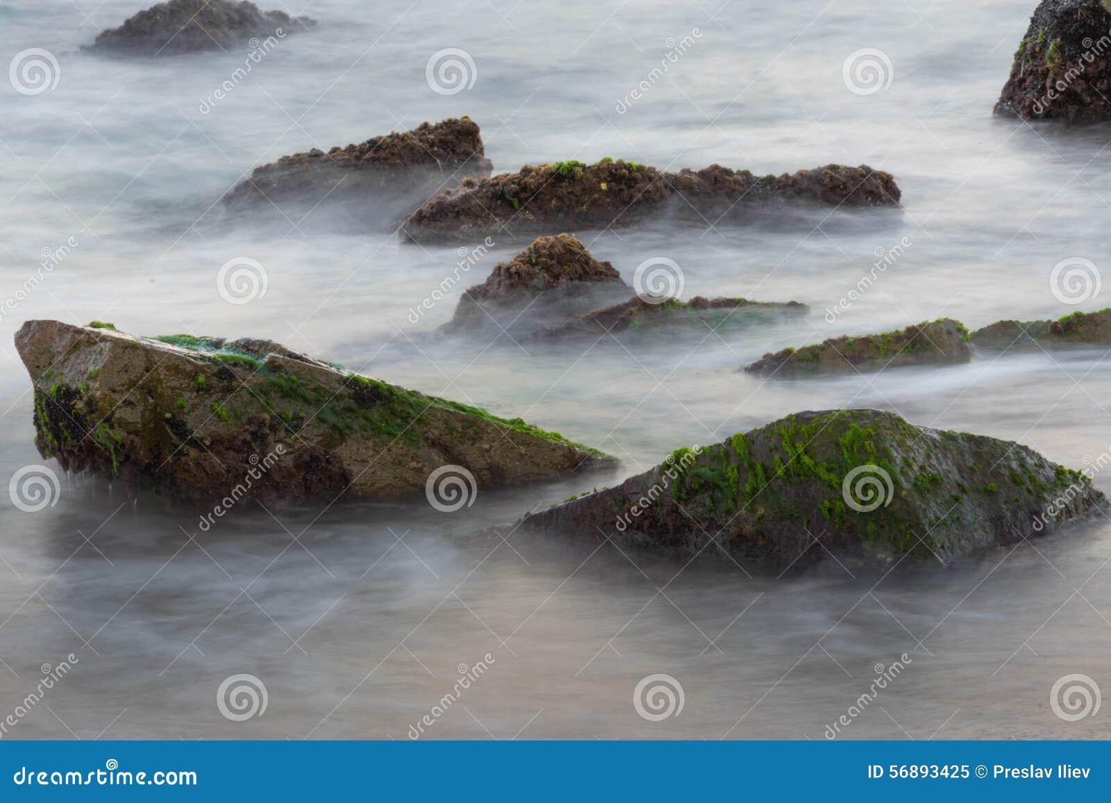 Mare con le rocce