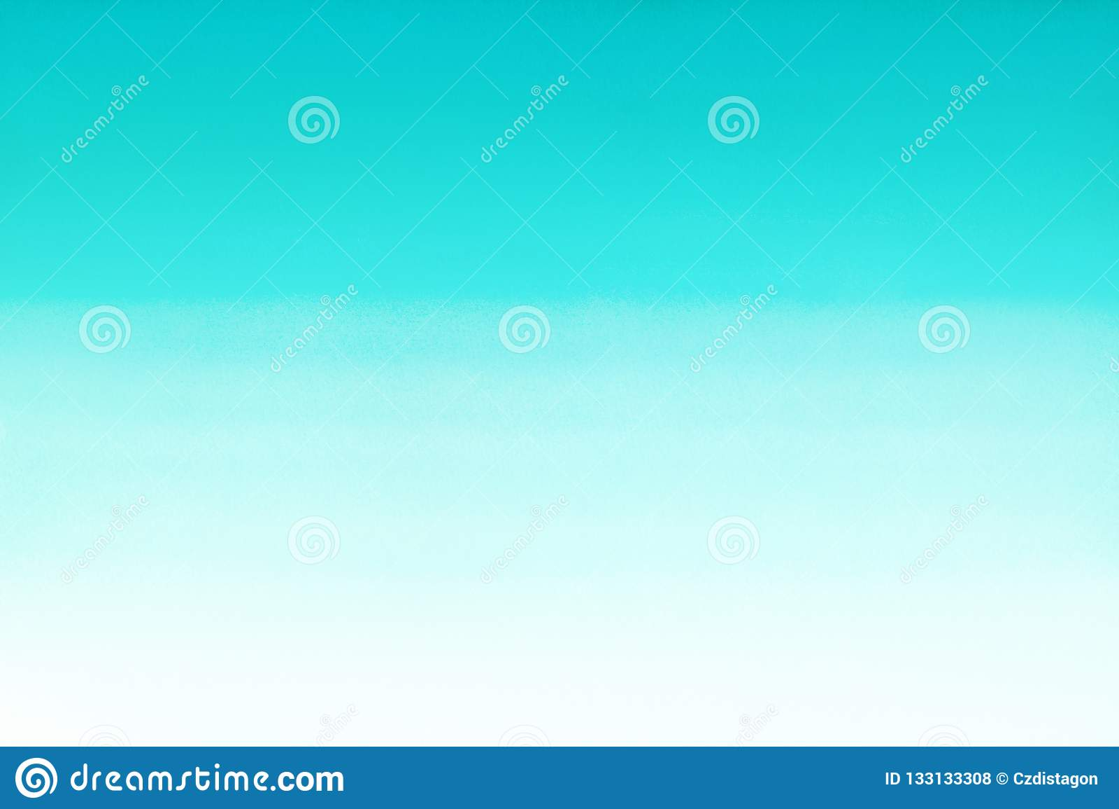 Mare dell oceano o fondo di pendenza dell estratto dell acquerello del turchese di azzurro degli azzurri Materiale di riempimento