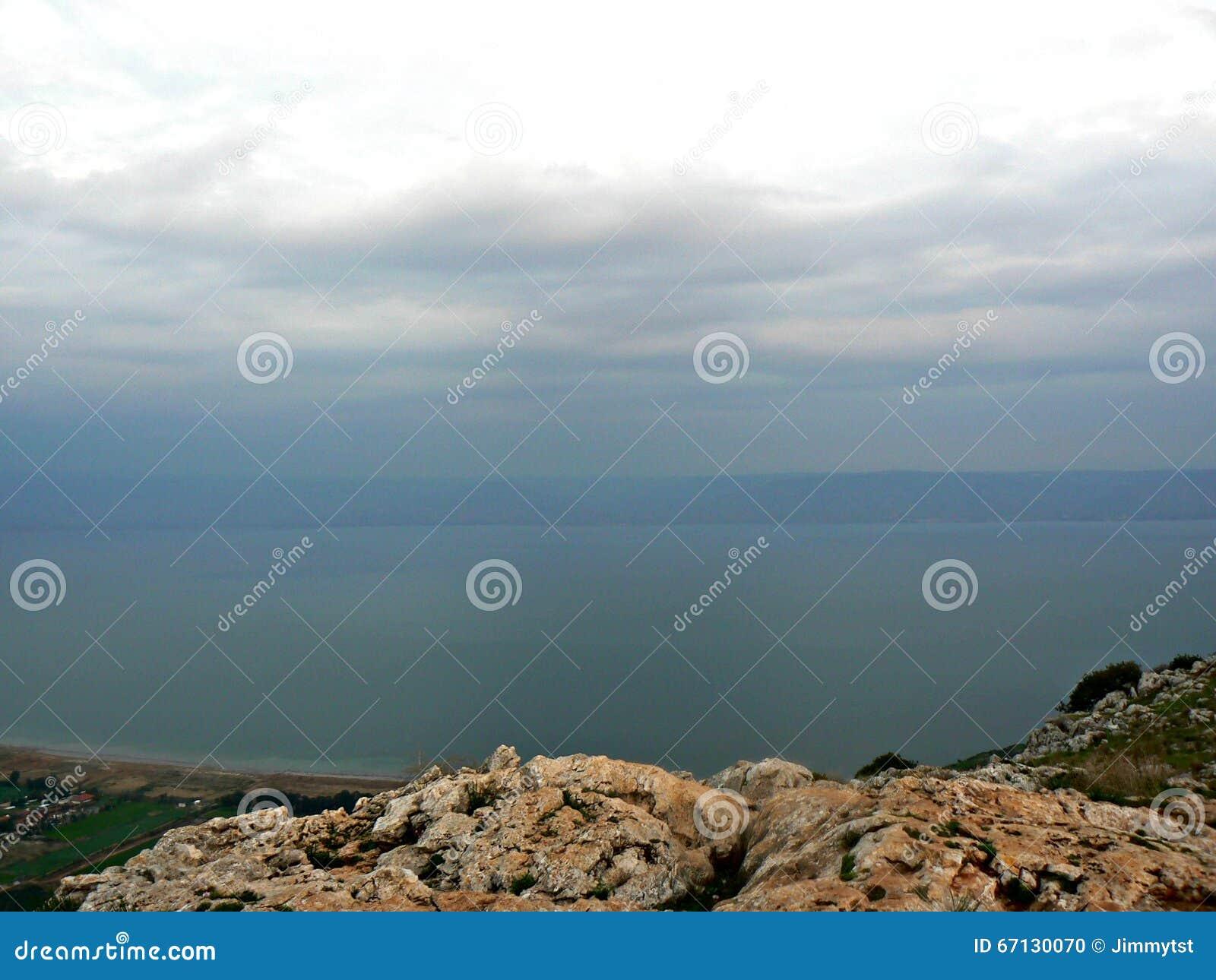 Mare della Galilea - vista dal supporto Arbel