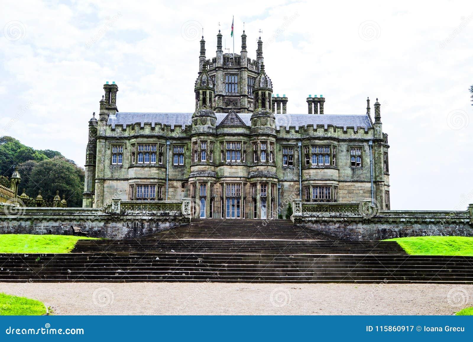 Margam Castle gothic mansion