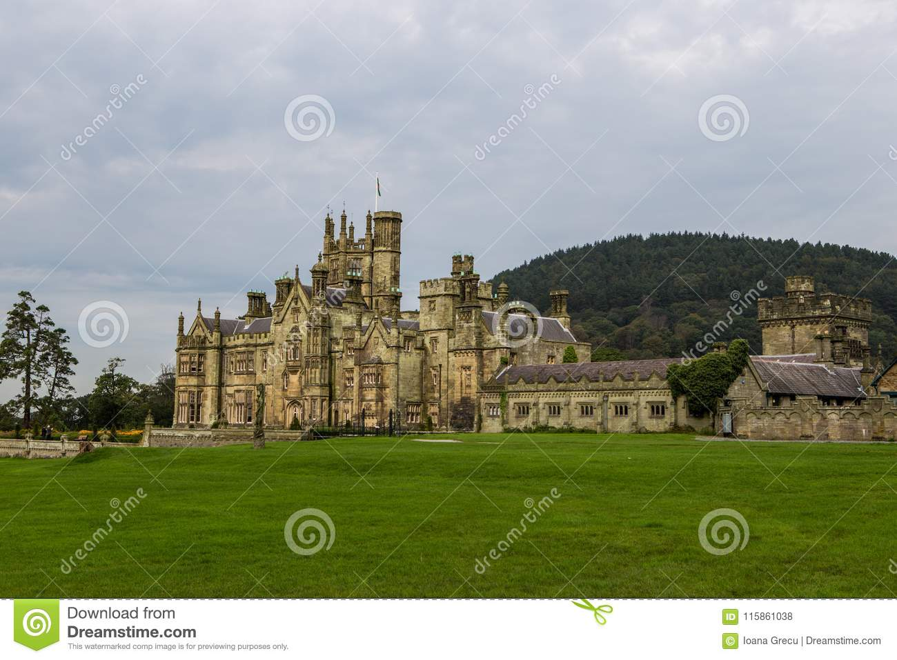 Margam Castle gothic mansion
