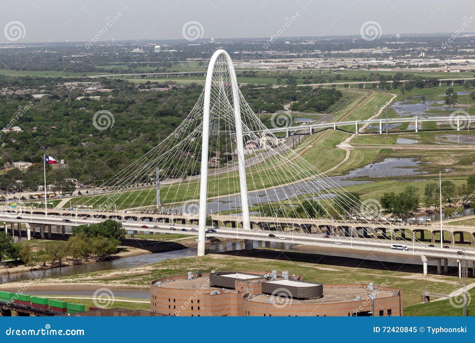 Margaret Hunt Bridge em Dallas, Estados Unidos