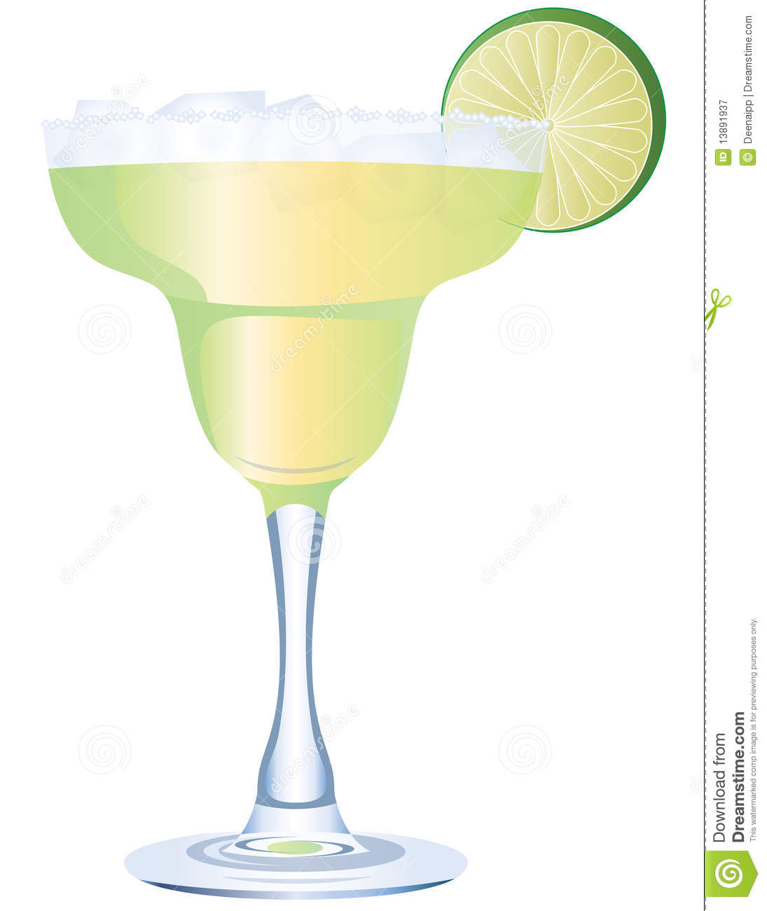 Margarita stock vector. Illustration of cocktail, mexica ...
