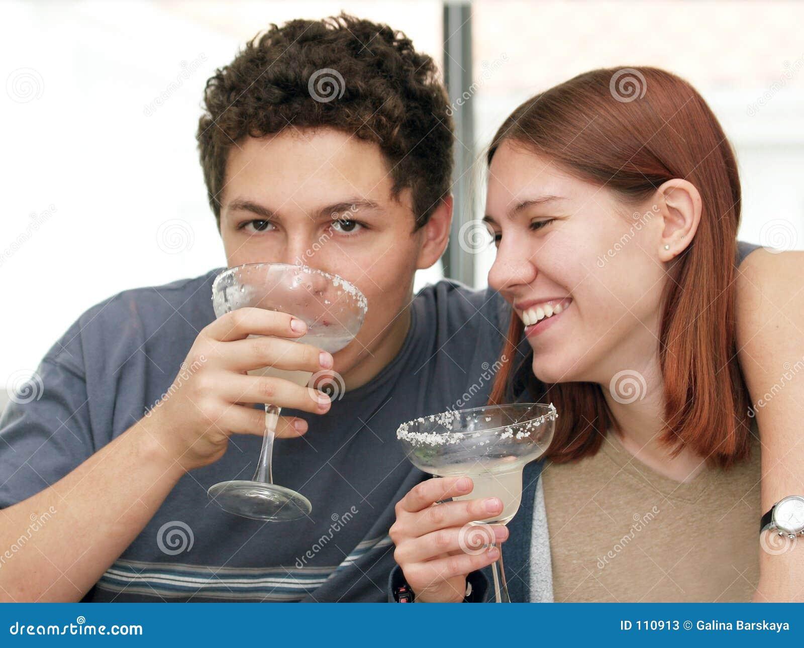 Margarita bebendo