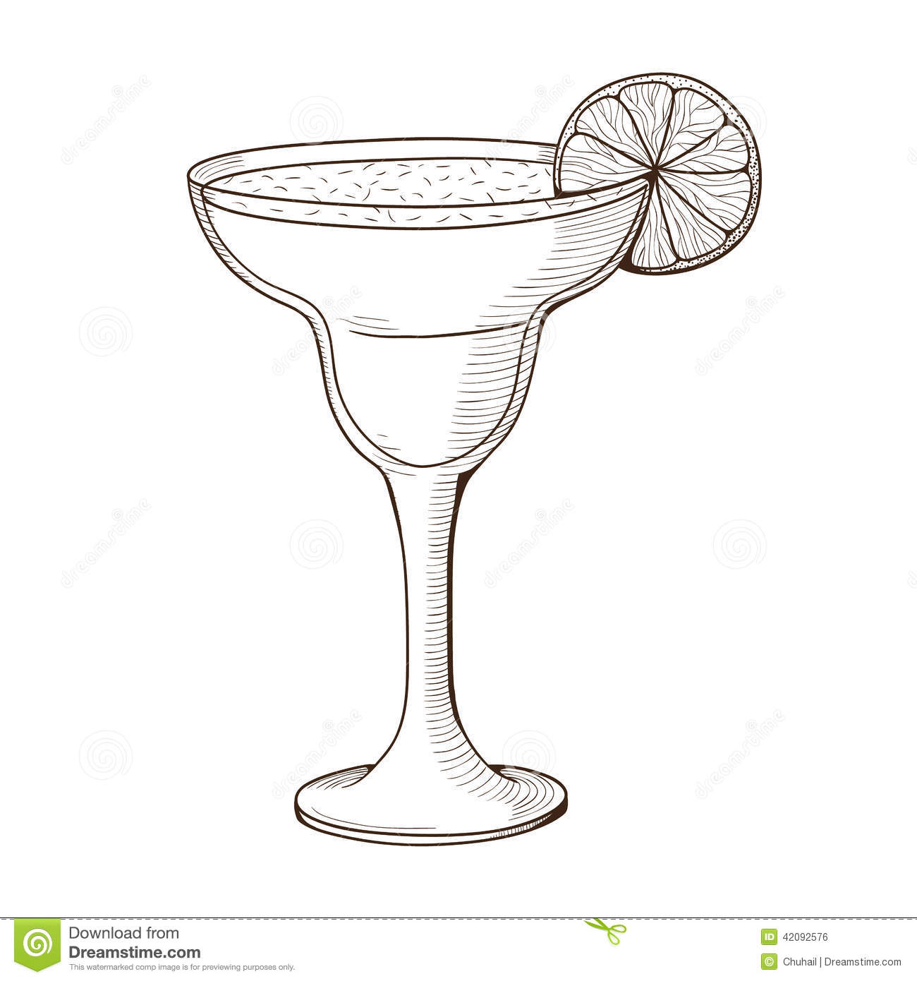 It's just a picture of Unforgettable Margarita Glass Drawing