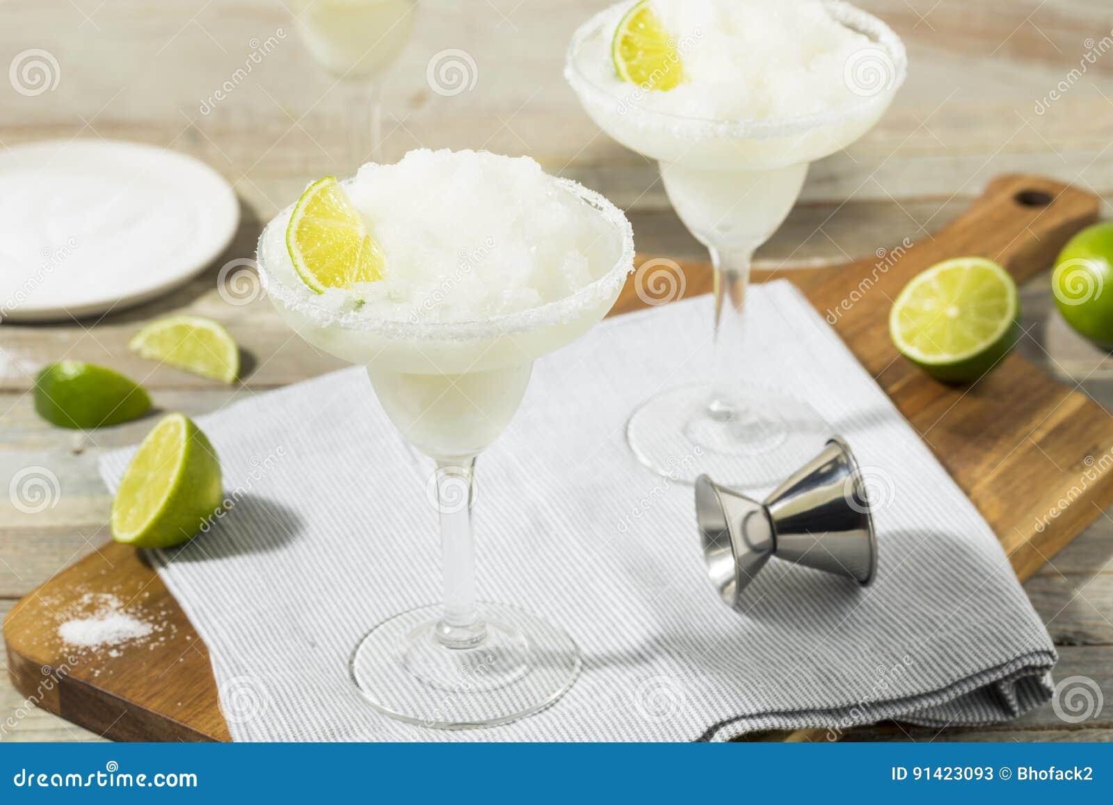 Margarita congelada cal de restauración fría