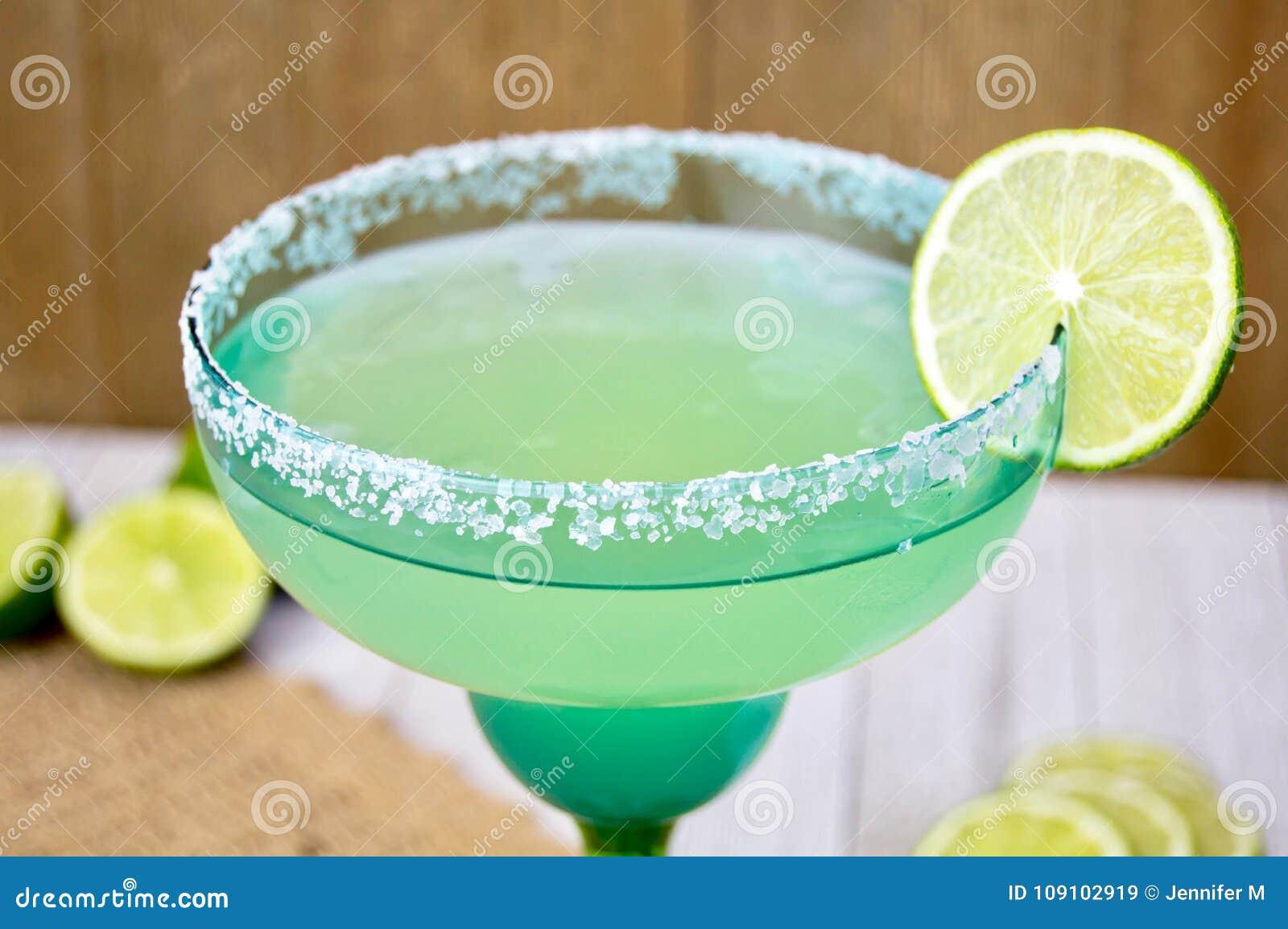 Margarita met kalkplak