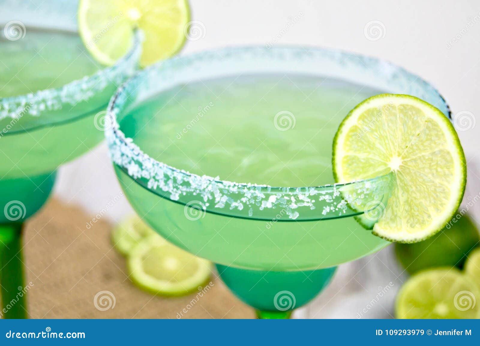 Margaritas con la cal