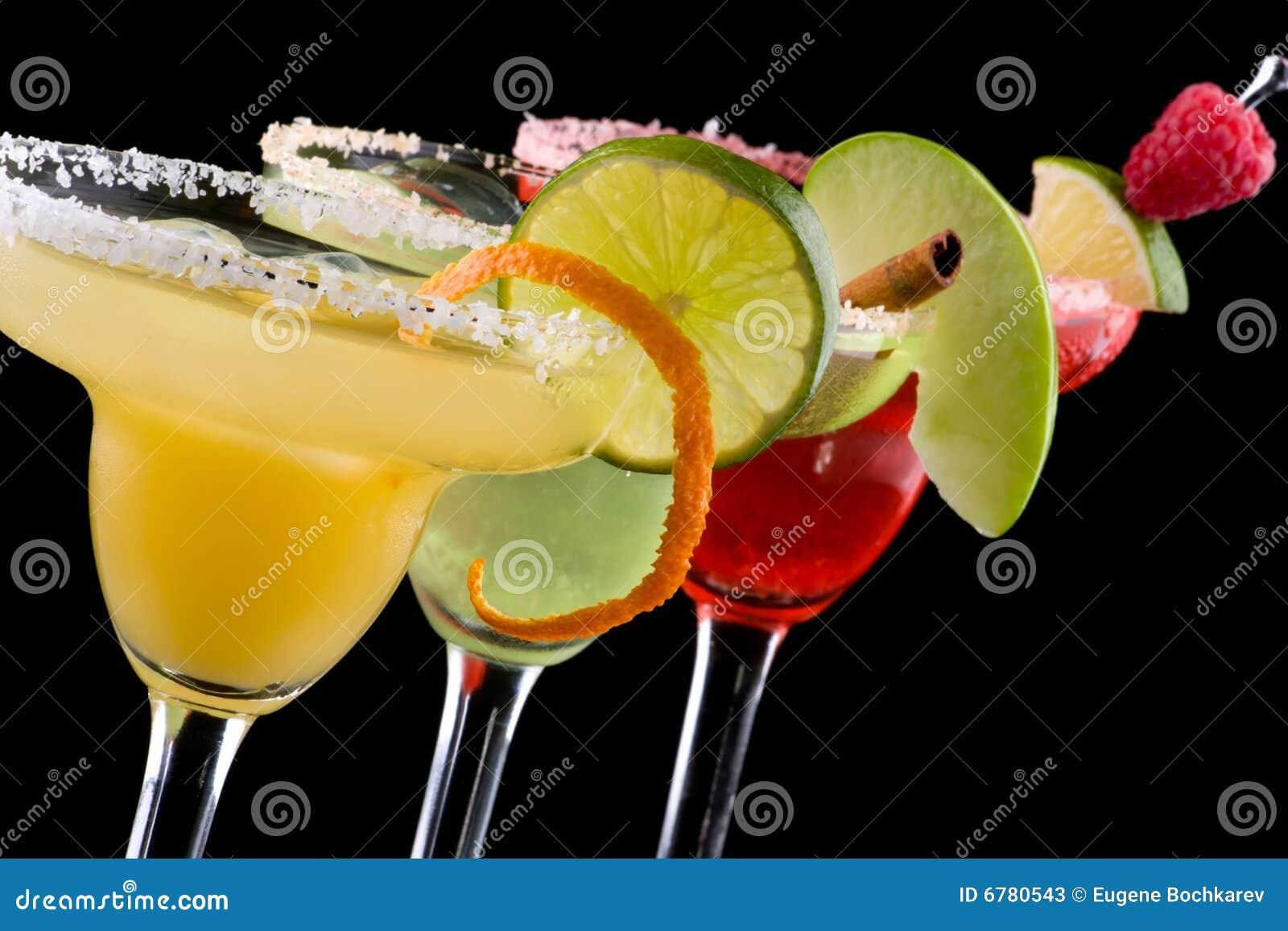 Margaritas - a maioria de série popular dos cocktail