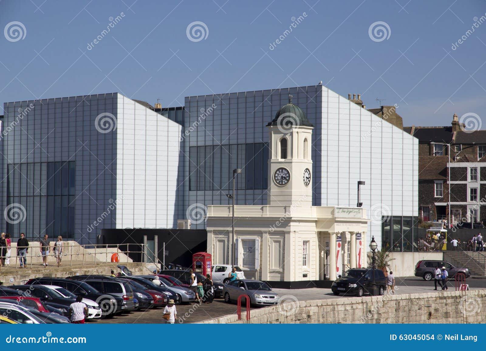 MARGATE, Reino Unido a galeria de arte de Turner Contemporary