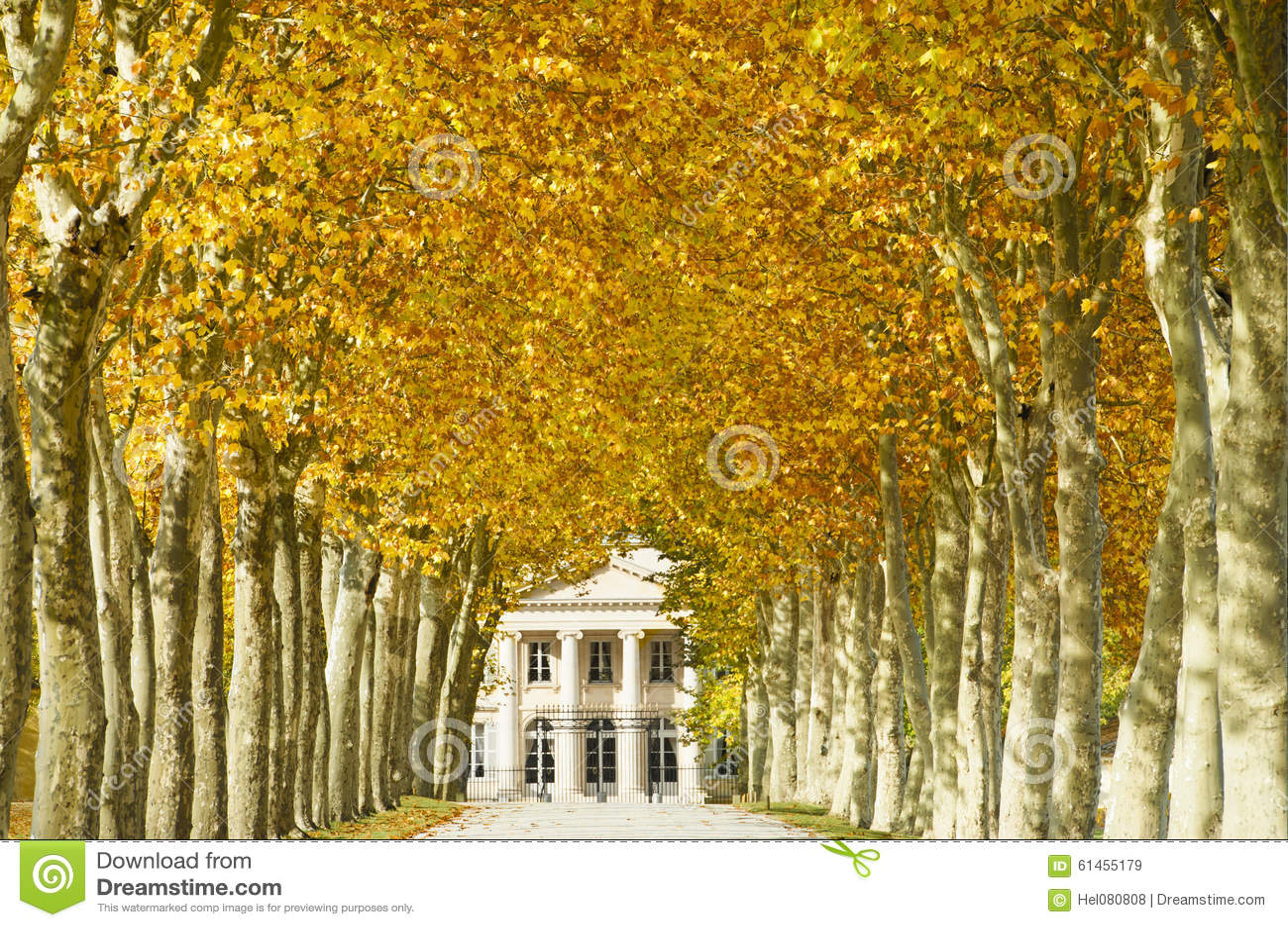 Margaux Франции замка Бордо