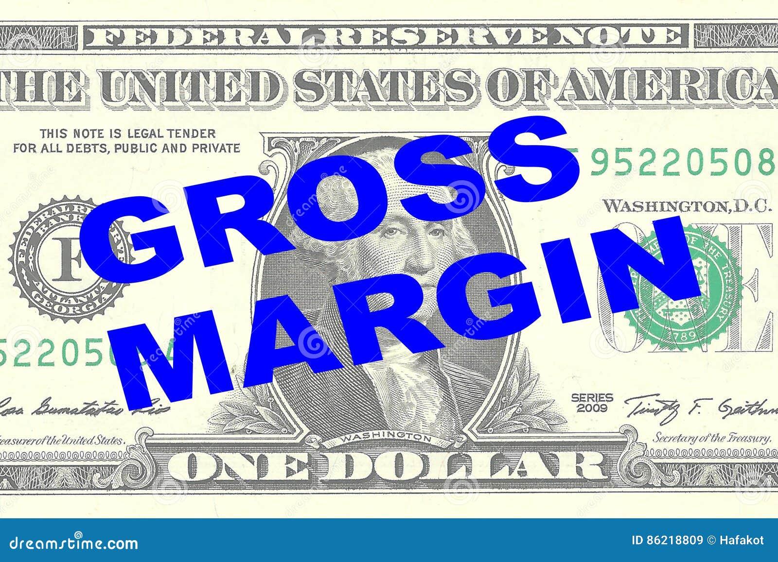 Marge brute - concept financier