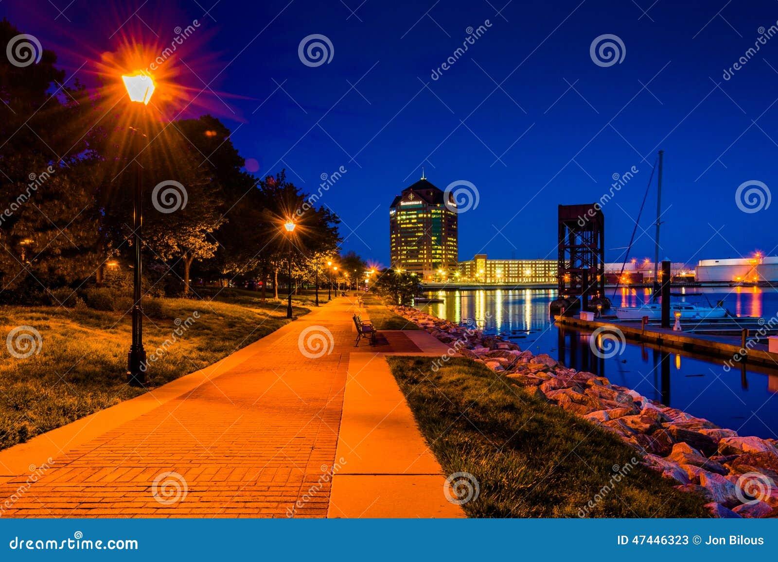 A margem na noite no cantão, Baltimore, Maryland