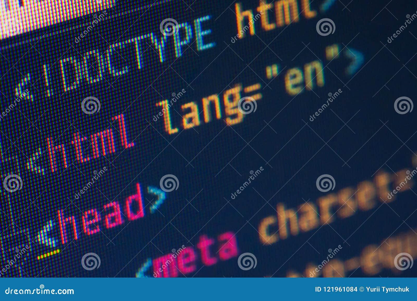 Margine di profitto dell intestazione del HTML, macro