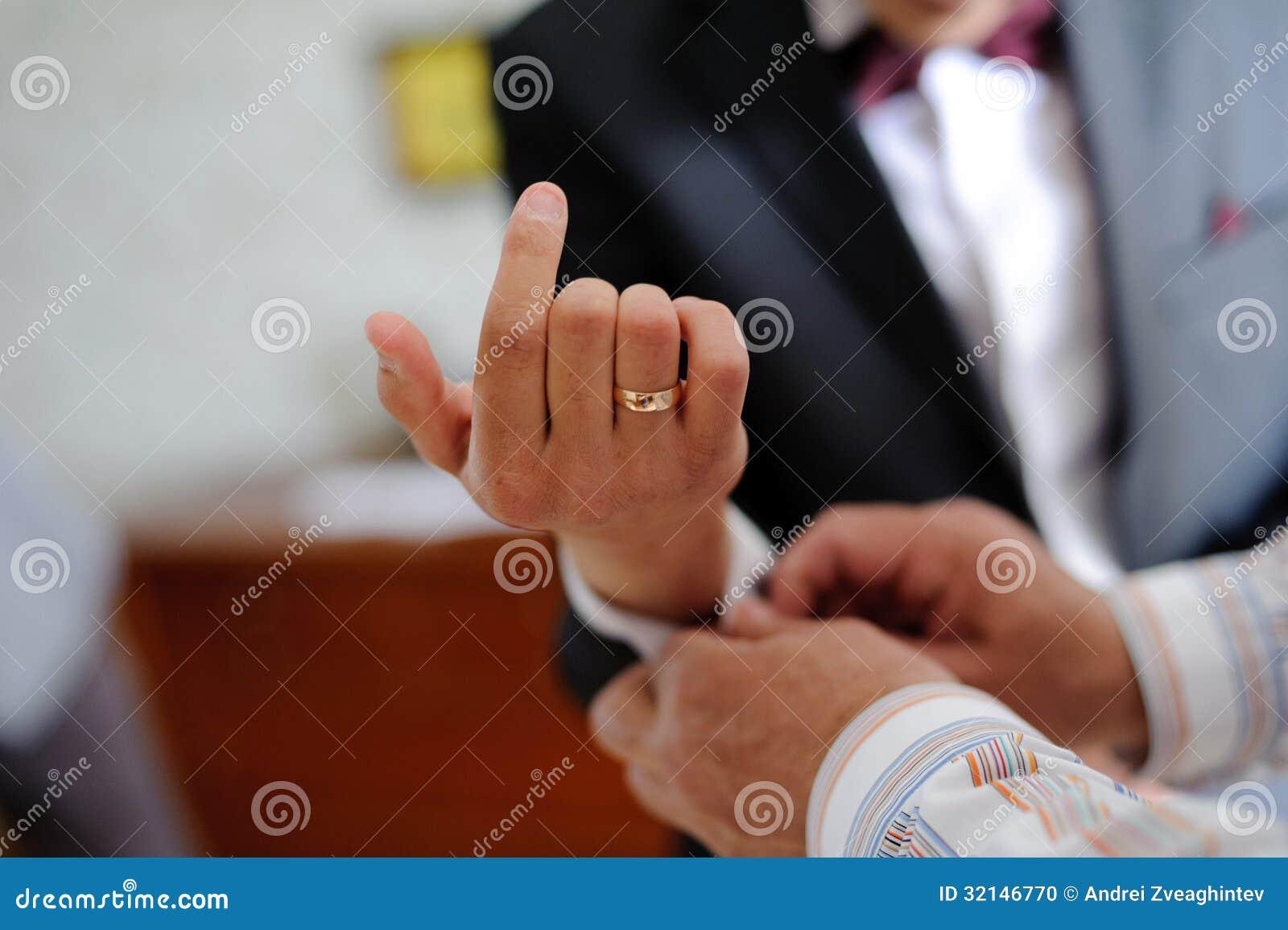 Marié de aide de Groomsman