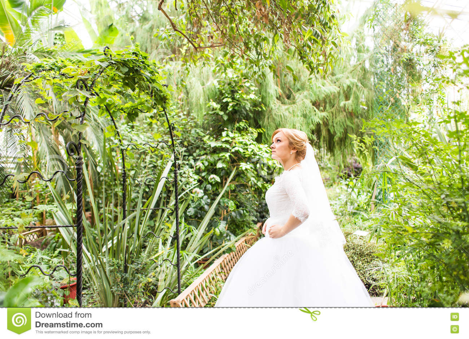 Mariée assez jeune