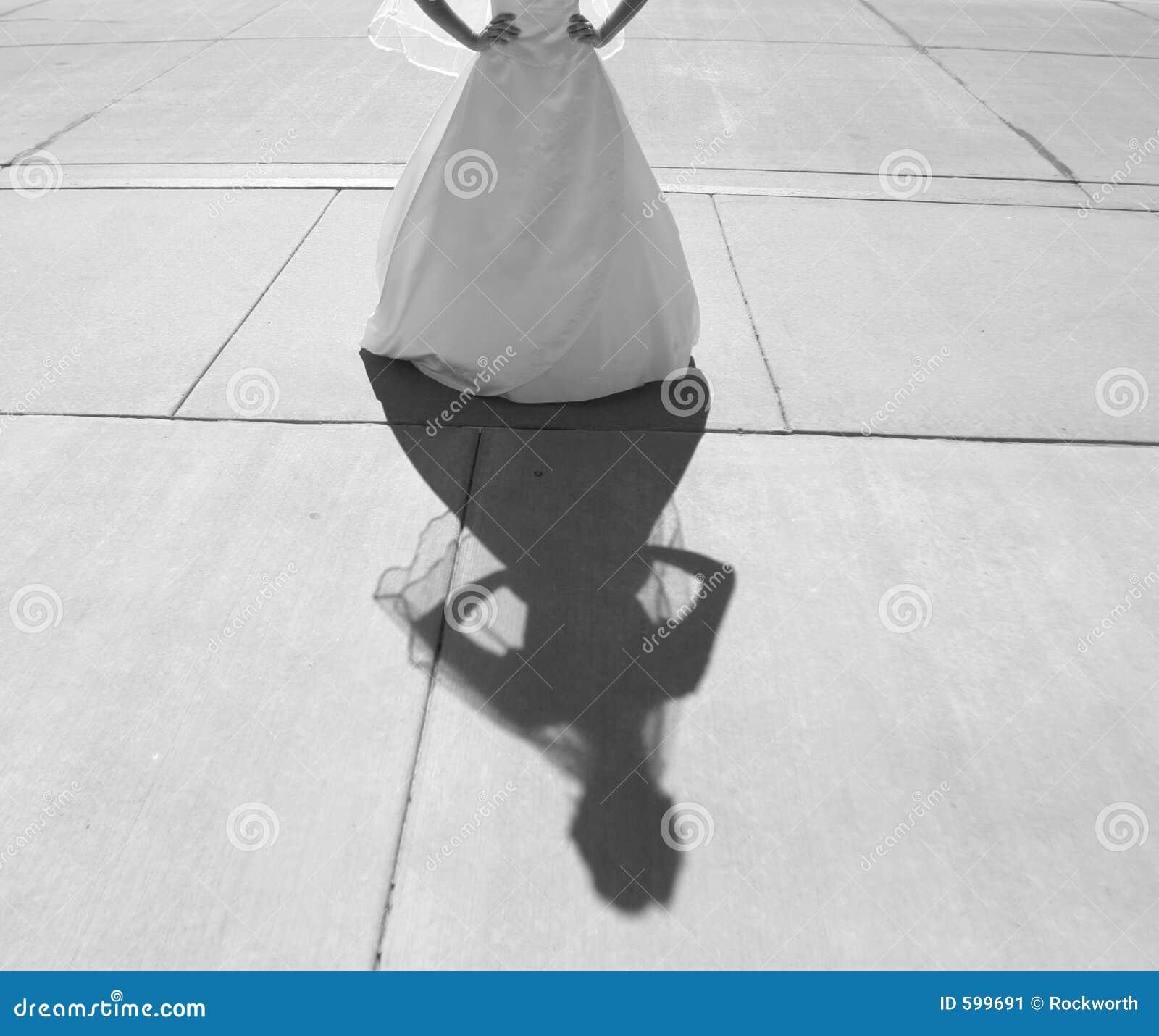 Mariée et ombre