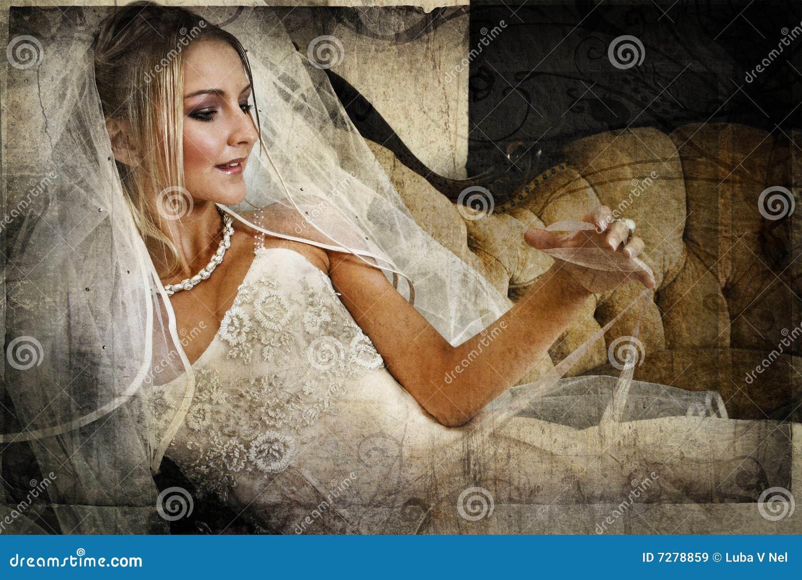 Mariée grunge