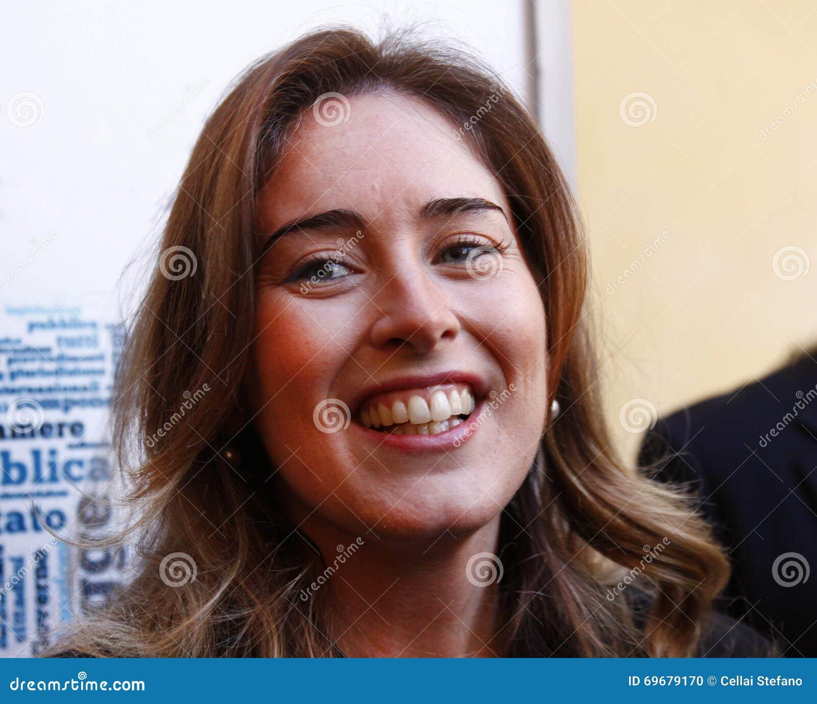 <b>Maria Elena</b> Boschi Redaktionelles Bild - maria-elena-boschi-69679170