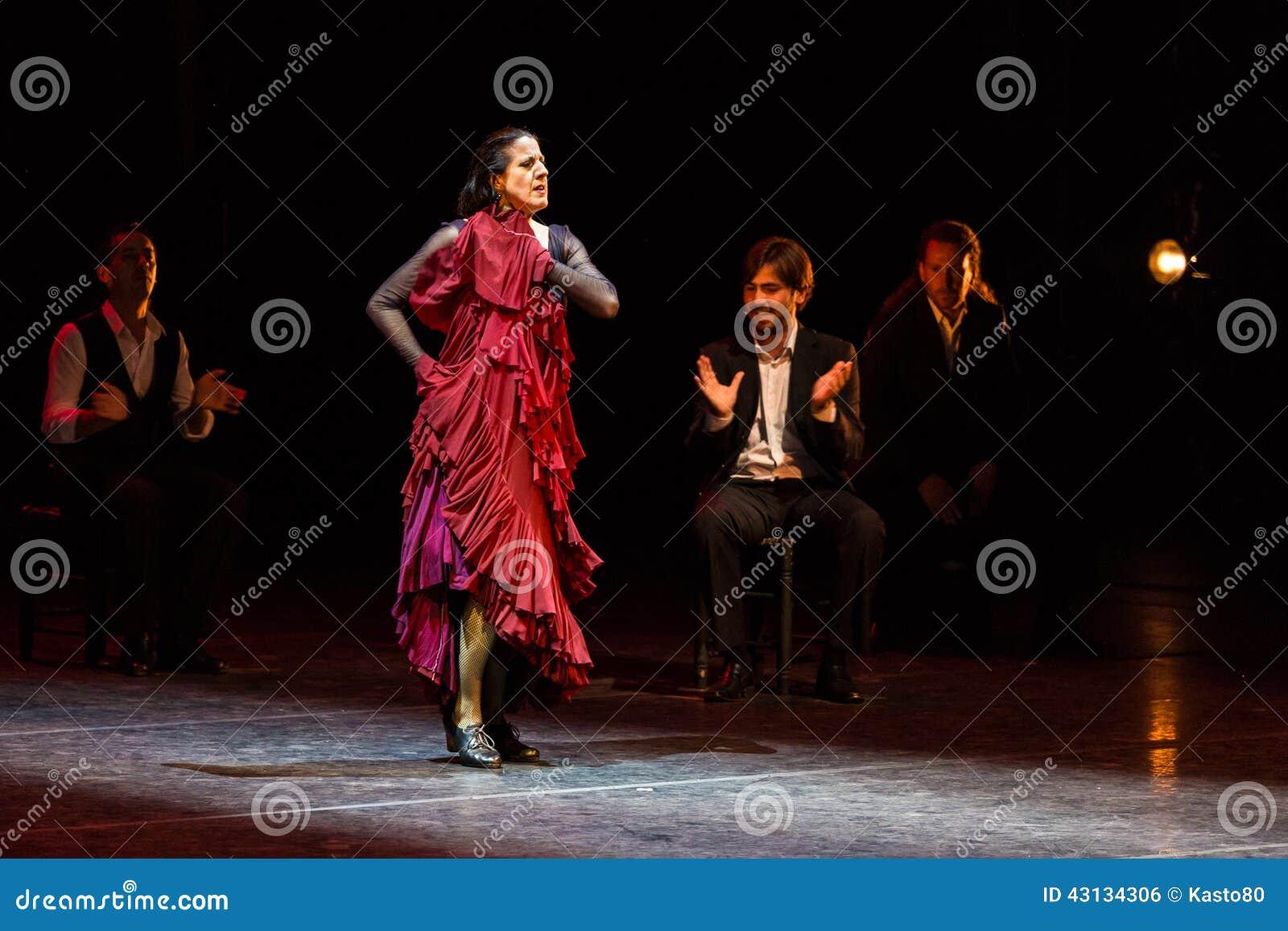 maria pages spanish flamenco dancer editorial photo image