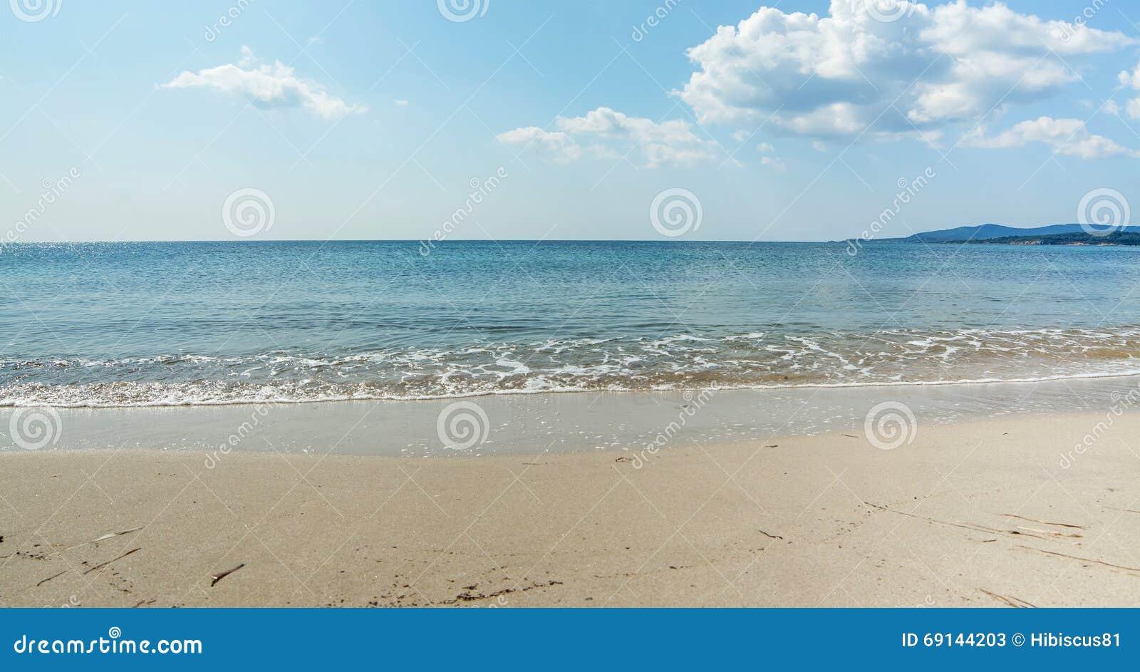 Maria Pia shoreline