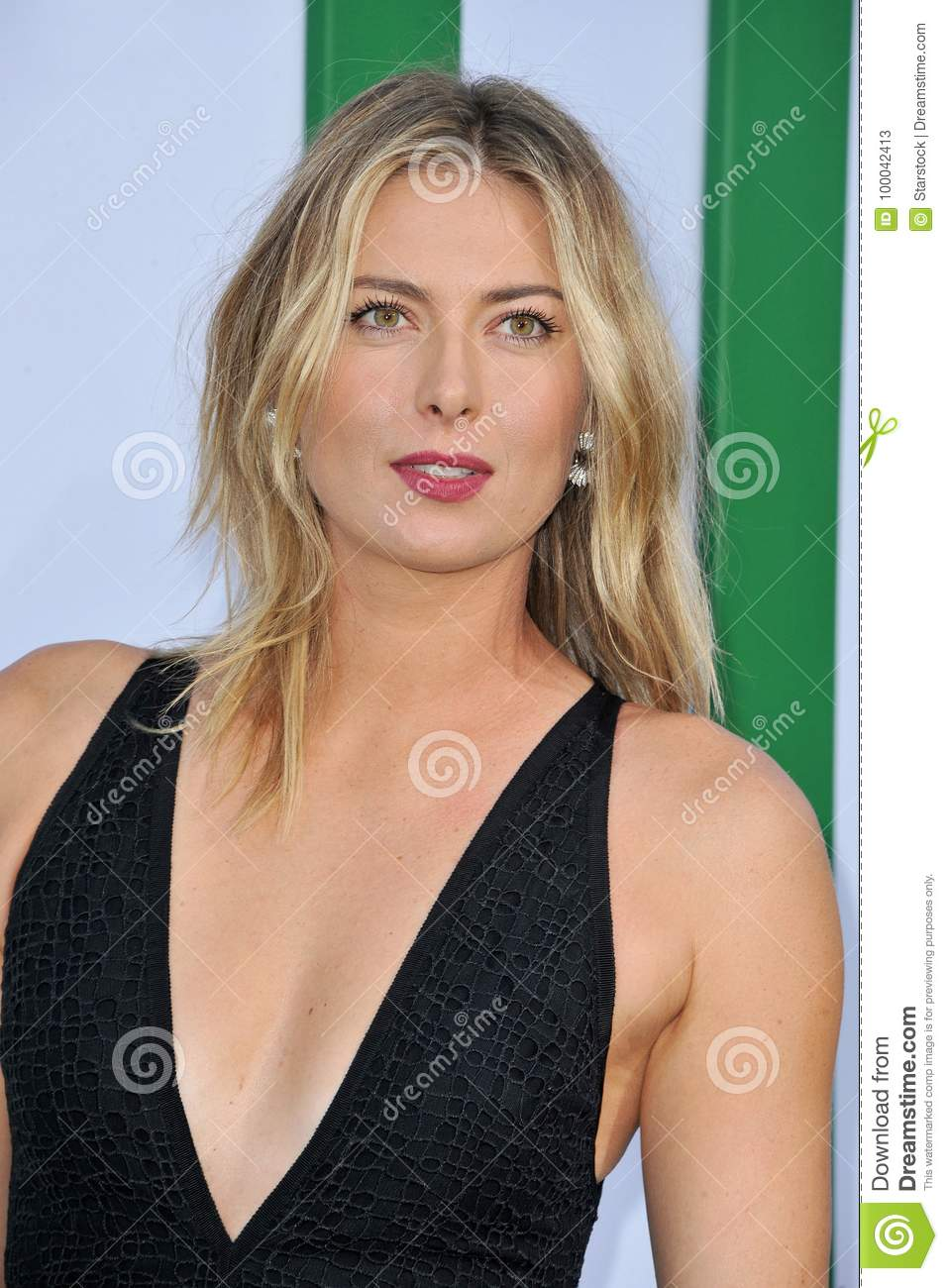 Maria Sharapova at the Los Angeles premiere of `Battle of the Sexes` held  at the Regency Village Theatre in Westwood e7295057381