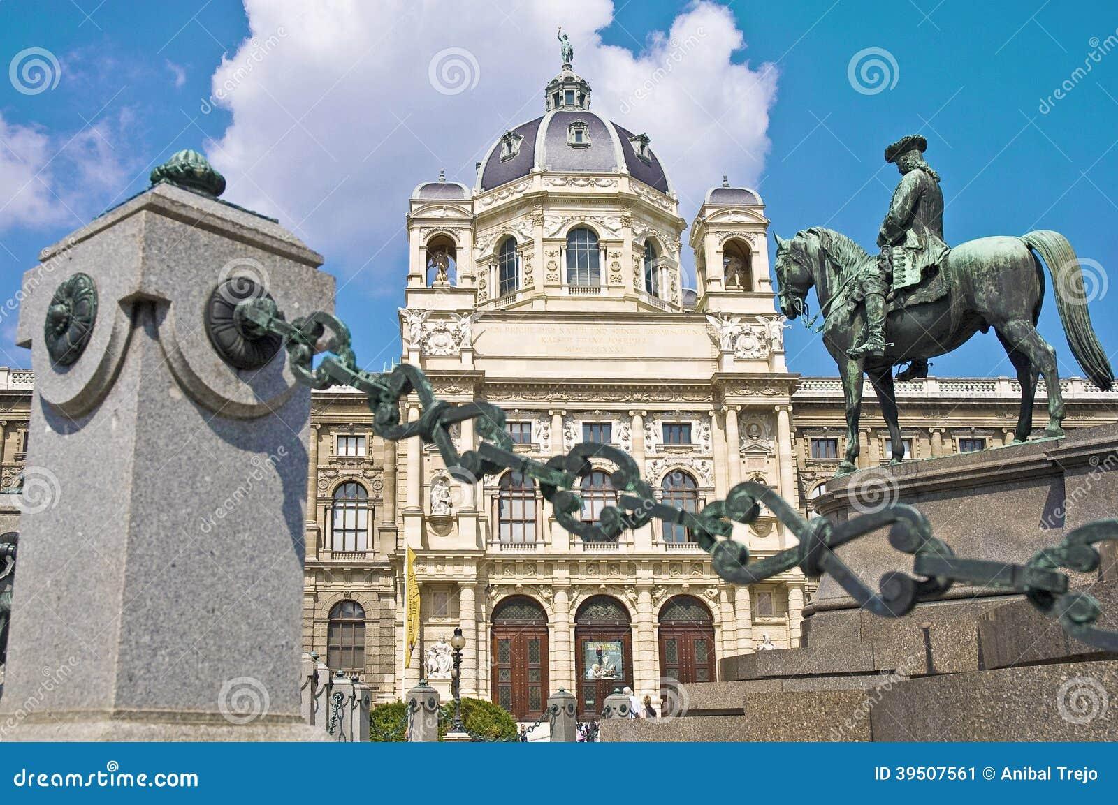 Maria Theresienplatz in Vienna, Austria