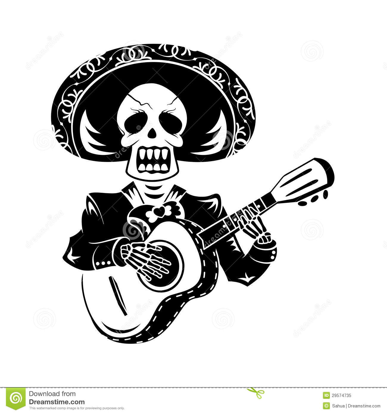 Mariachi Guitar Player Royalty Free Stock Photo - Image: 29574735