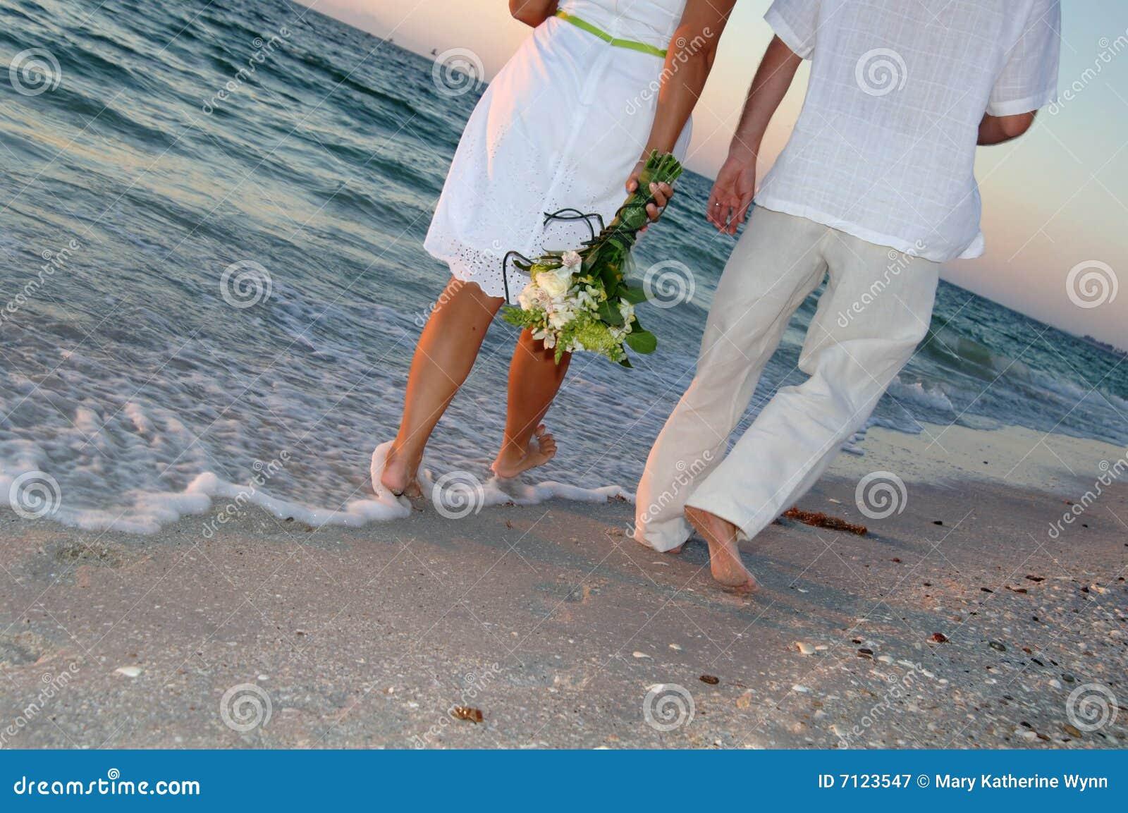 Mariage de couples de plage