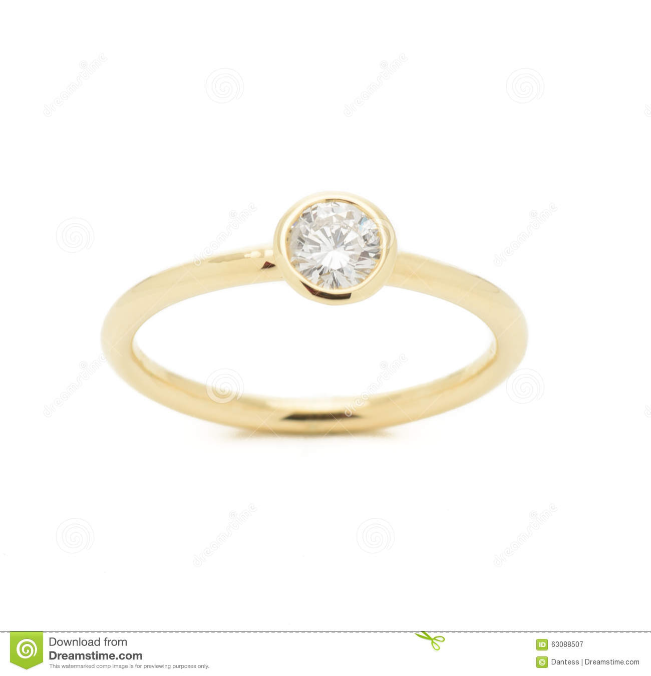 Download Mariage Diamond Ring image stock. Image du clear, luxe - 63088507