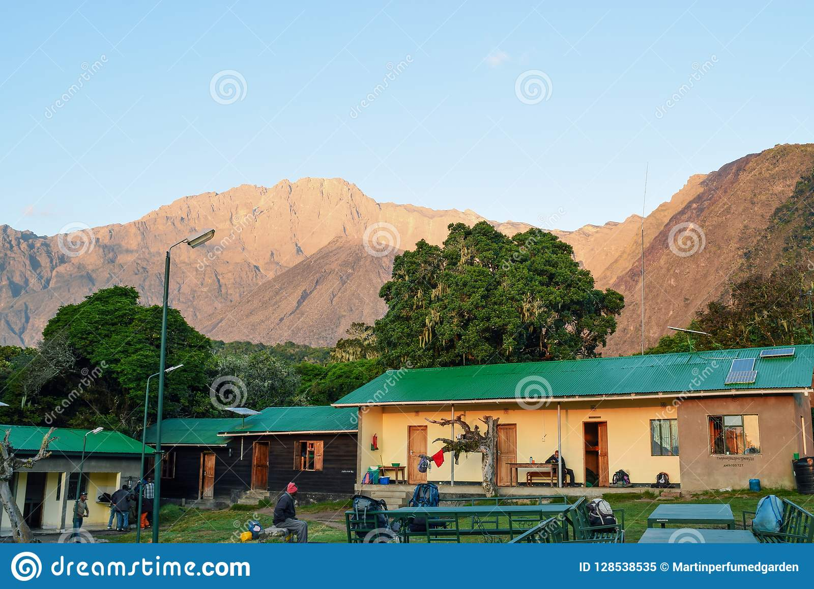 Mariakamba Hut Mount Meru, Arusha National Park