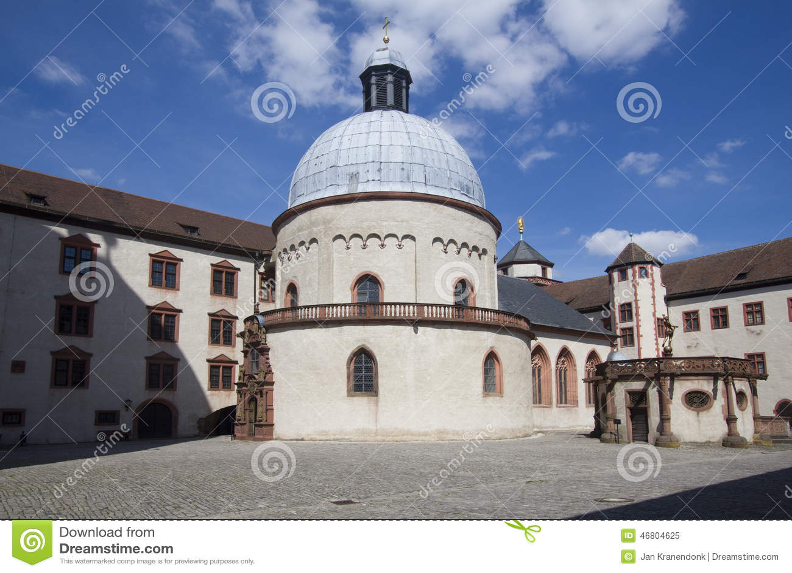 marienberg castle wurzburg stock photo image 46804625. Black Bedroom Furniture Sets. Home Design Ideas