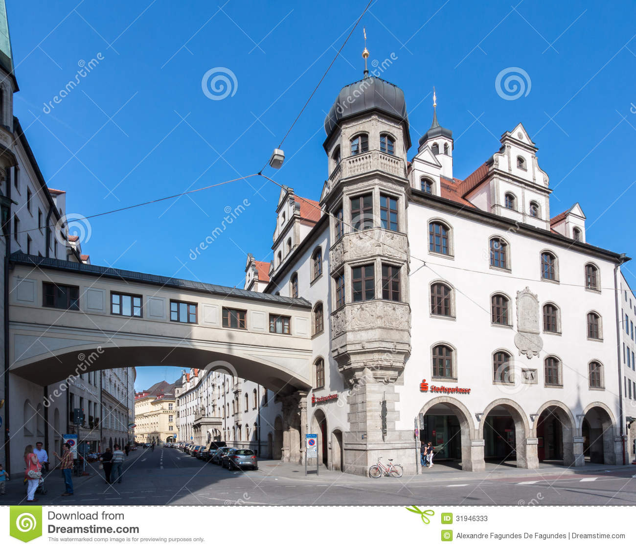 Marienplatz Munich Germany Editorial Stock Photo - Image