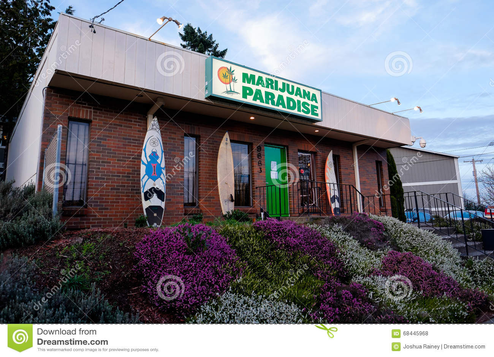 Marihuana-Paradies-Topf-Apotheke in Portland Oregon
