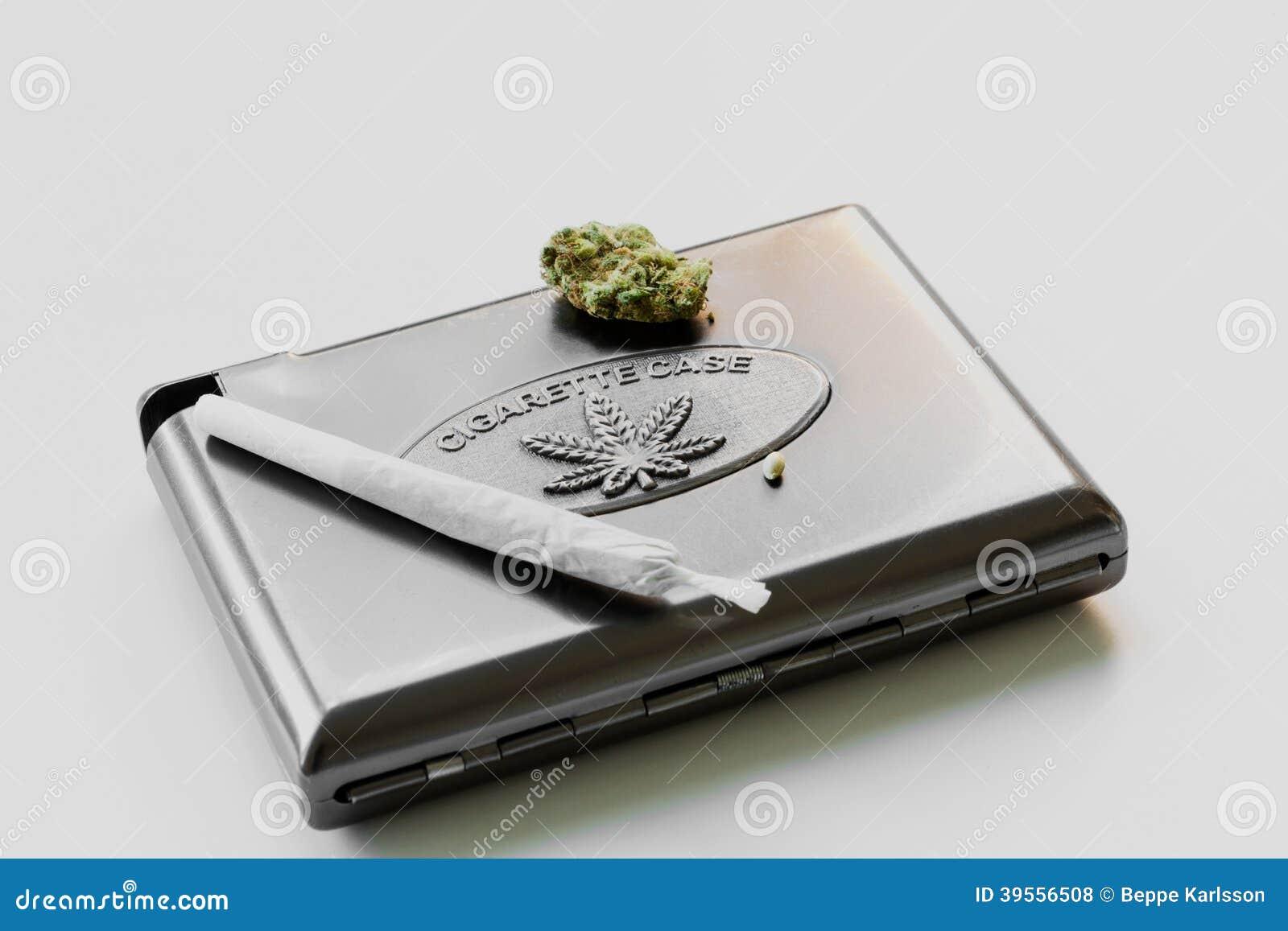 Marihuany papierosowa skrzynka